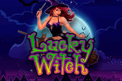 logo lucky witch microgaming slot game