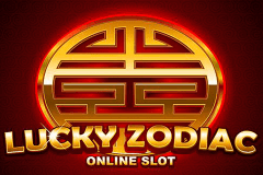 logo lucky zodiac microgaming slot game