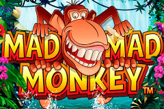 logo mad mad monkey nextgen gaming slot game