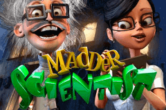 logo madder scientist betsoft slot game