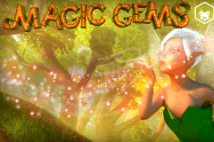 logo magic gems leander slot game