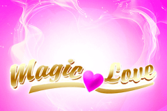 logo magic love netent slot game