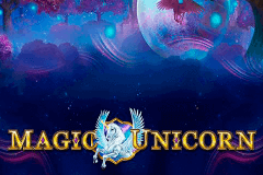 logo magic unicorn gameart slot game