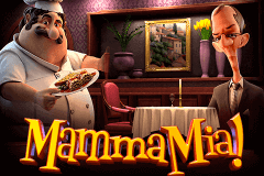 logo mamma mia betsoft slot game