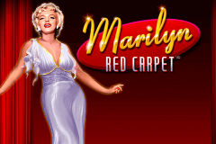 logo marilyn red carpet novomatic slot game