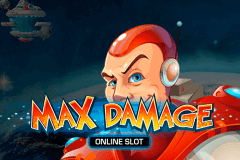 logo max damage microgaming slot game