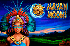 logo mayan moons novomatic slot game