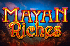 logo mayan riches igt slot game