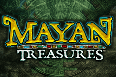 logo mayan treasures bally slot game
