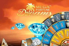logo mega fortune dreams netent slot game