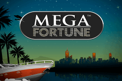 logo mega fortune netent slot game