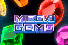 logo mega gems betsoft slot game