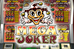 logo mega joker netent slot game