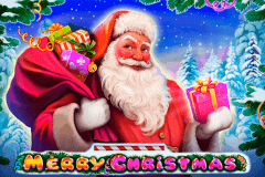 logo merry christmas playson