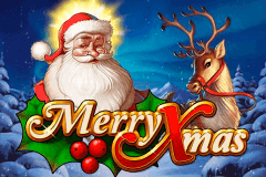 logo merry xmas playn go slot game