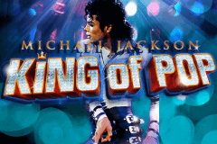 logo michael jackson king of pop bally slot game