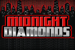 logo midnight diamonds bally slot game