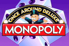 logo monopoly once around deluxe wms slot game