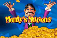 logo montys millions barcrest slot game