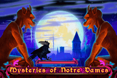 logo mysteries of the notre dames playson slot game
