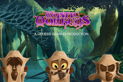 logo mystic monkeys genesis slot game
