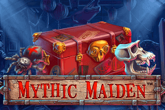 logo mythic maiden netent slot game