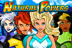 logo natural powers igt slot game