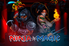 logo ninja magic microgaming slot game