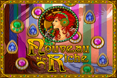 logo nouveau riche igt slot game