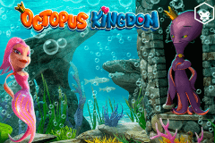 logo octopus kingdom leander slot game