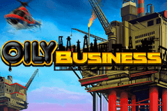 logo oily business playn go slot game