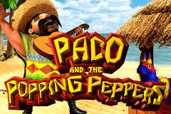 logo paco and the popping peppers betsoft slot game