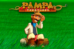 logo pampa treasures leander slot game