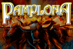 logo pamplona igt slot game