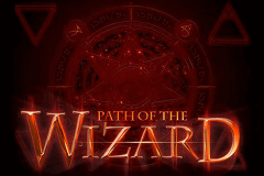 logo path of the wizard genesis slot game