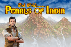 logo pearls of india playn go slot game