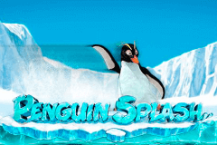 logo penguin splash rabcat slot game