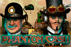 logo phantom cash microgaming slot game
