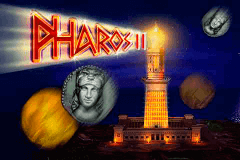 logo pharos ii merkur slot game