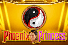 logo phoenix princess gameart slot game