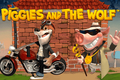 logo piggies and the wolf playtech slot game