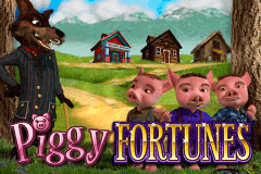 logo piggy fortunes microgaming slot game