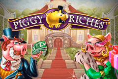 logo piggy riches netent slot game