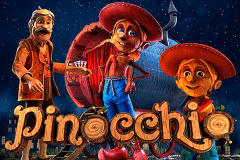 logo pinocchio betsoft slot game
