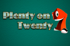 logo plenty on twenty novomatic slot game