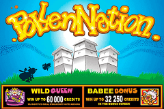 logo pollen nation microgaming slot game