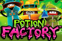 logo potion factory leander slot game