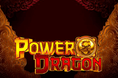logo power dragon gameart slot game