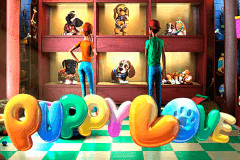 logo puppy love betsoft slot game