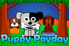 logo puppy payday 1x2gaming slot game